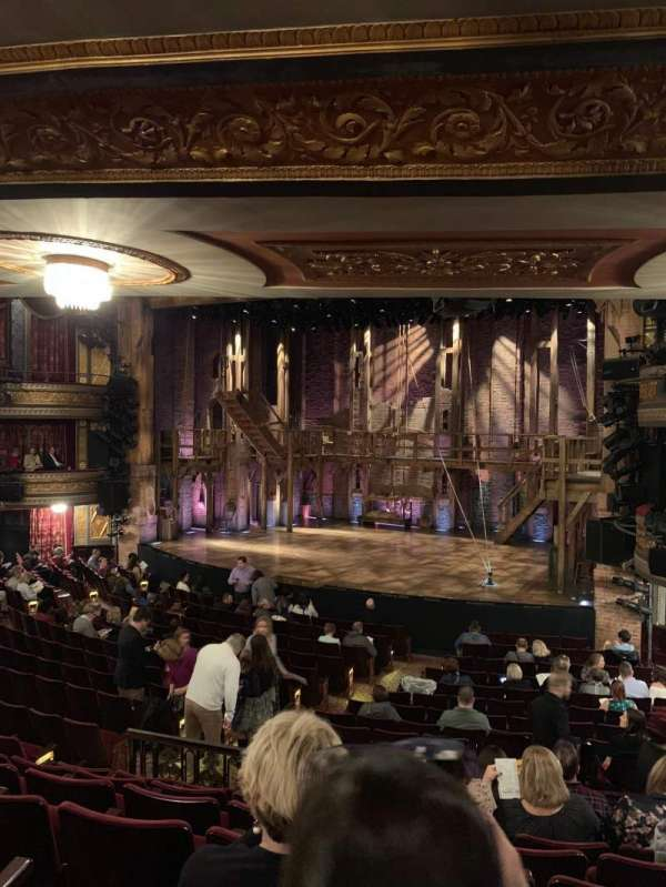 Richard Rodgers Theatre, section: Orchestra Right, row: R, seat: 22