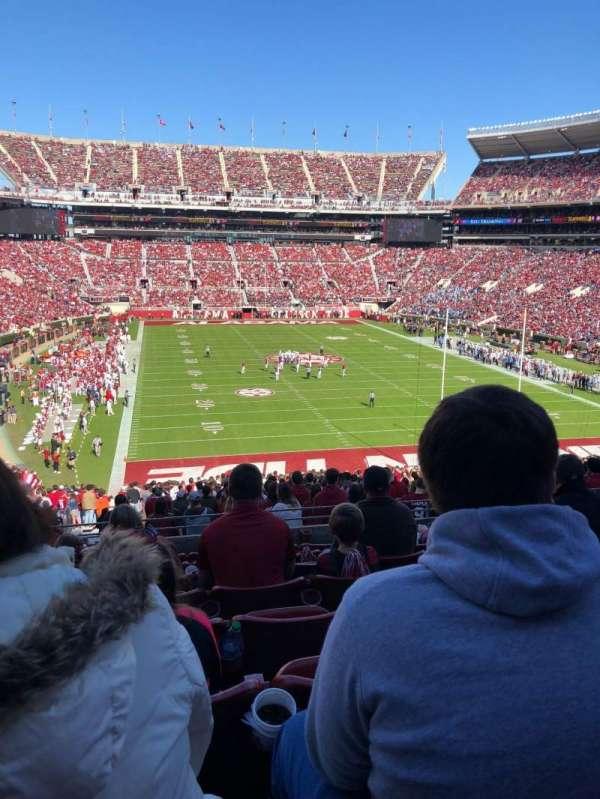 Bryant-Denny Stadium, section: SZ 4, row: 8, seat: 17