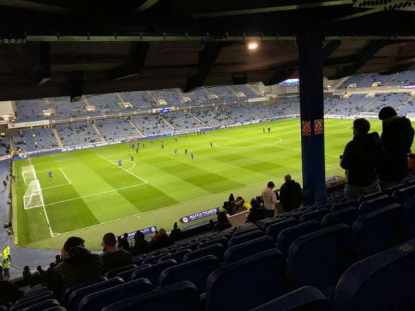 Ibrox Stadium, section: MRS, row: H