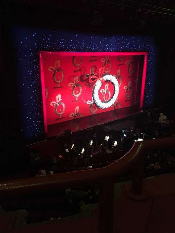 Chicago Theatre, section: Loge2L, row: AA, seat: 213