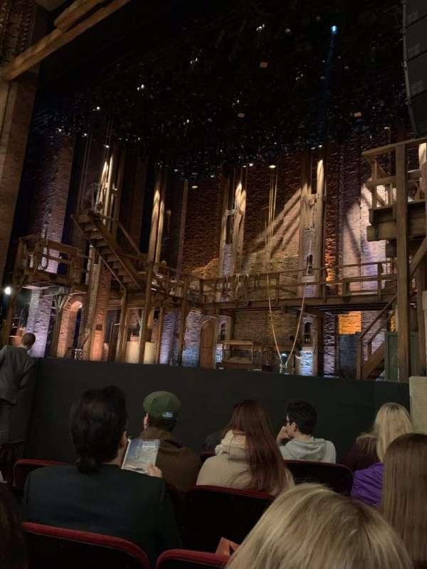 CIBC Theatre, section: Orchestra R, row: F, seat: 12