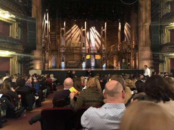 CIBC Theatre, section: Orchestra C, row: R, seat: 102