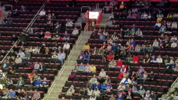 Little Caesars Arena, section: 105, row: 18, seat: 16