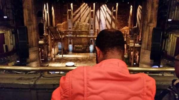 CIBC Theatre, section: MEZZRC, row: B, seat: 302