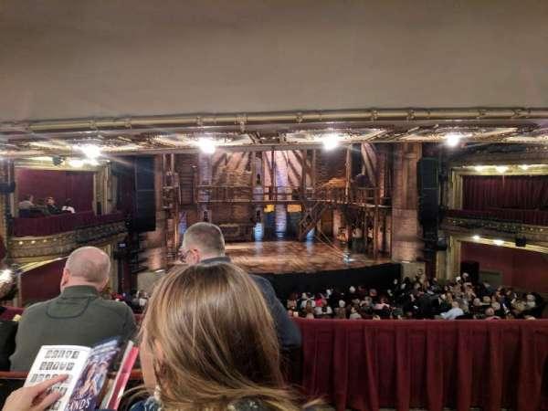 CIBC Theatre, section: drcrlc, row: c, seat: 221