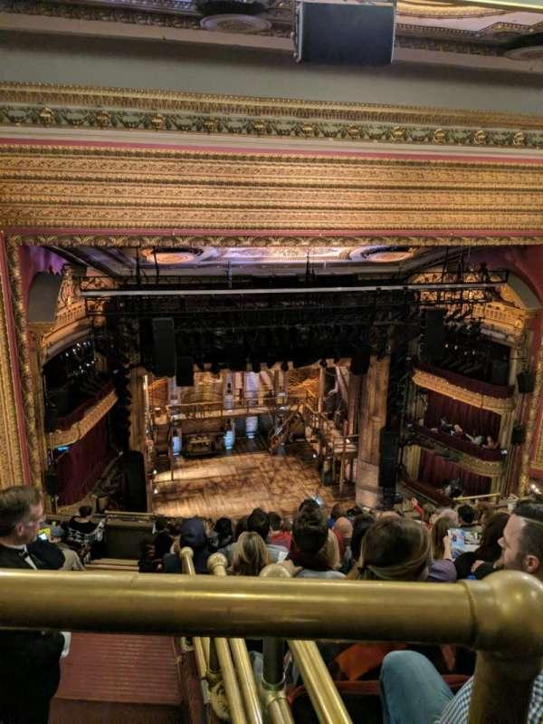 CIBC Theatre, section: BALCLC, row: L, seat: 419
