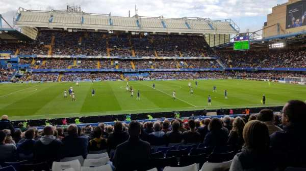 Stamford Bridge, section: West Lower, row: 33, seat: 140