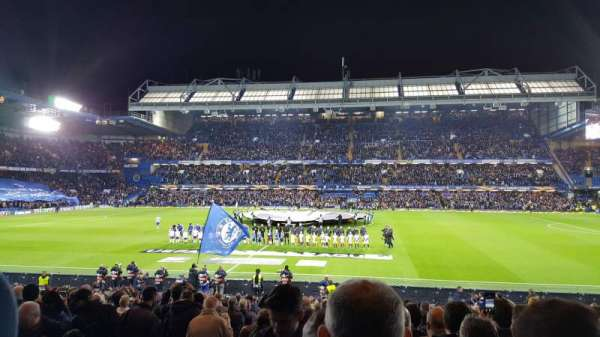 Stamford Bridge, section: West Stand Lower, row: 25, seat: 89