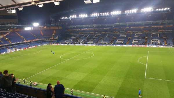 Stamford Bridge, section: East Stand Upper, row: 9, seat: 16