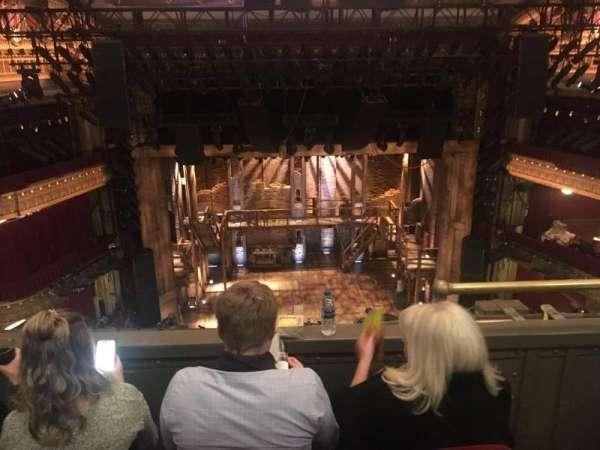 CIBC Theatre, section: Balcony, row: C, seat: 403