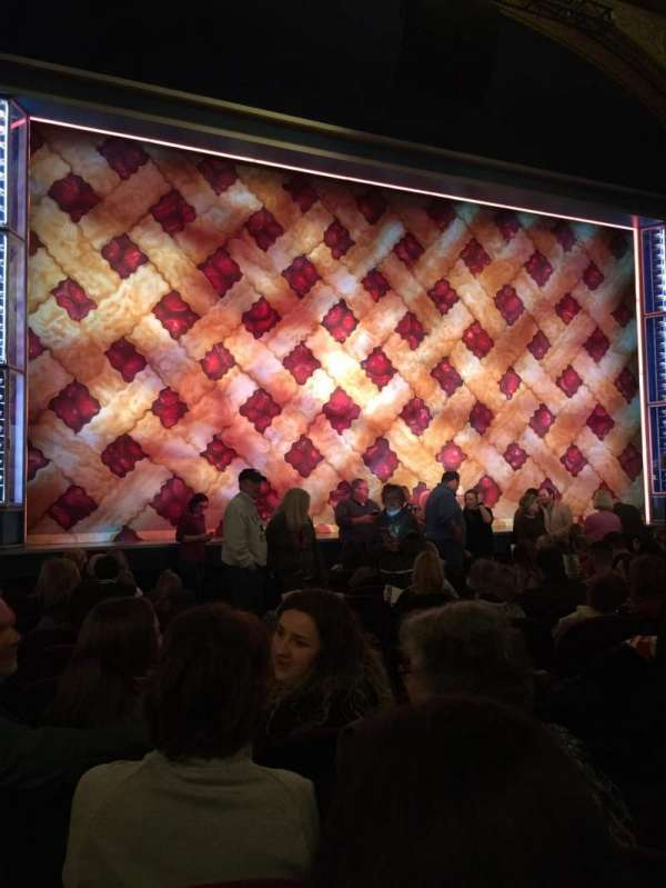 Brooks Atkinson Theatre, section: Orchestra, row: K, seat: 5