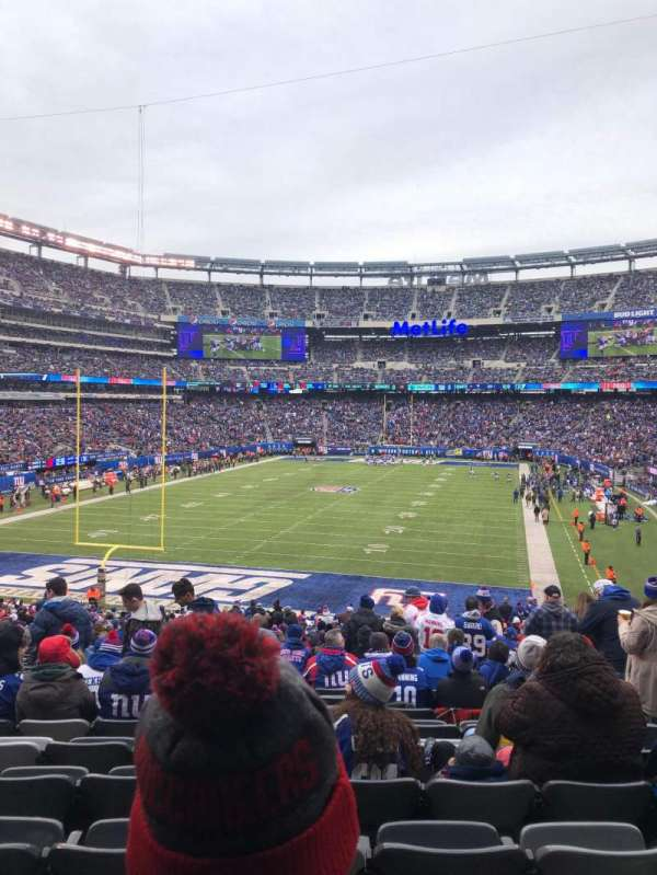 MetLife Stadium, section: 124, row: 38, seat: 3,4