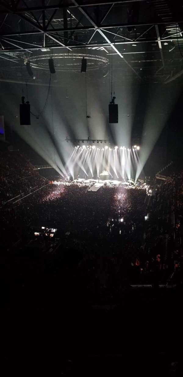 The O2 Arena, section: 413, row: E, seat: 762