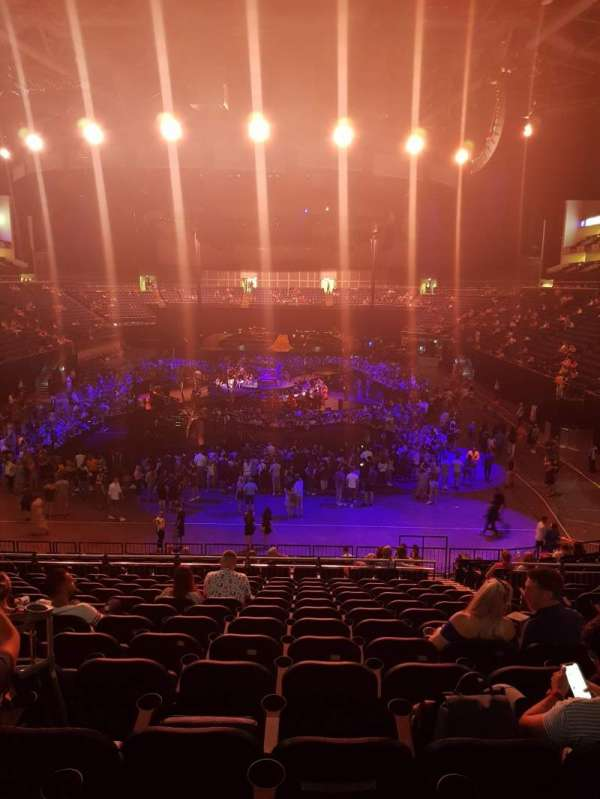 The O2 Arena, section: The amazon deck
