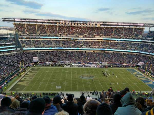 Lincoln Financial Field, section: 244, row: 21, seat: 6
