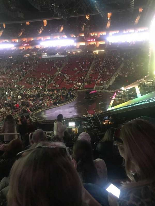 Toyota Center, section: 103, row: 18, seat: 20