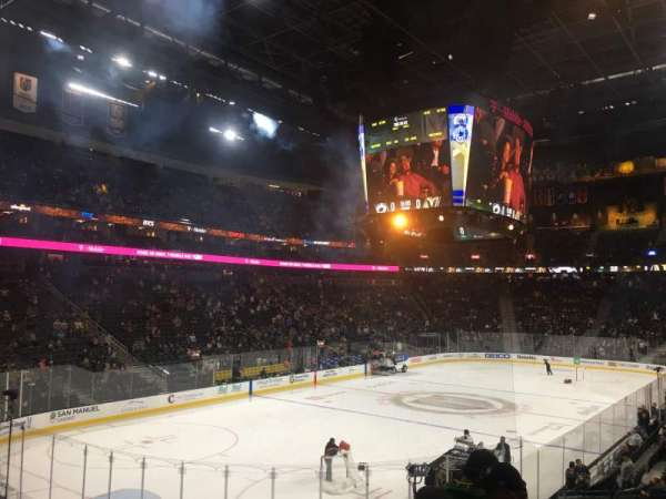 T-Mobile Arena, section: 12, row: R, seat: 14