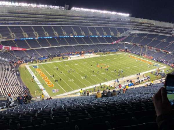 Soldier Field, section: 443, row: 34, seat: 7