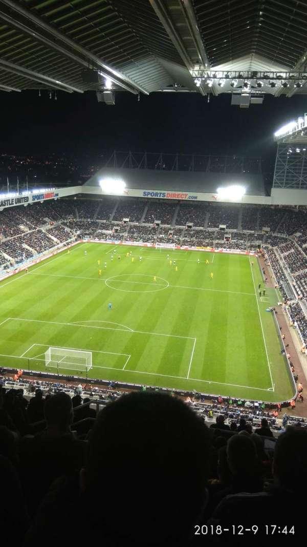 St James' Park, section: L7H, row: P, seat: 450