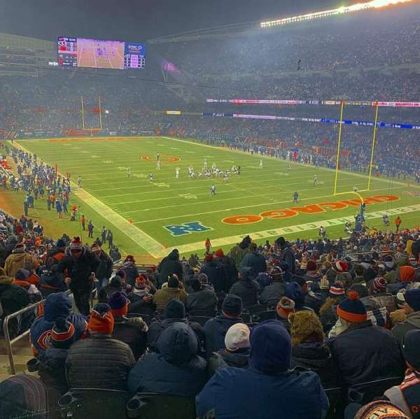 Soldier field, section: 255, row: 14, seat: 3