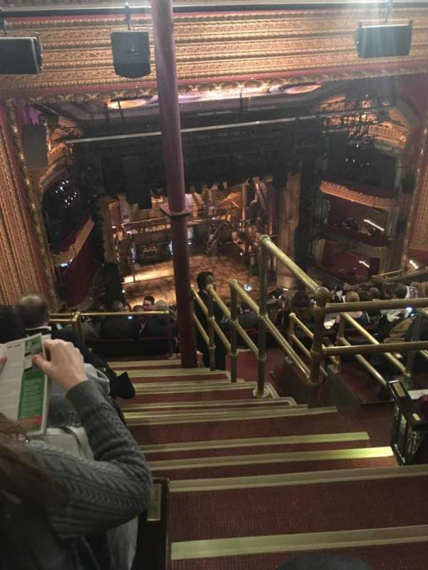 CIBC Theatre, section: Balcony L, row: N, seat: 1