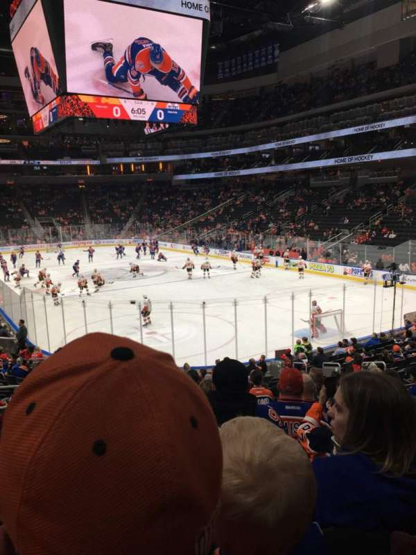 Rogers Place, section: 113, row: 19, seat: 12