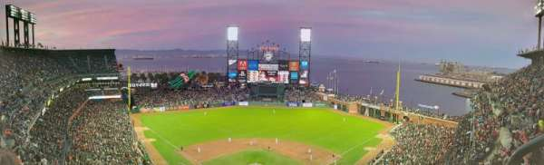 Oracle Park, section: VR315, row: 14, seat: 1