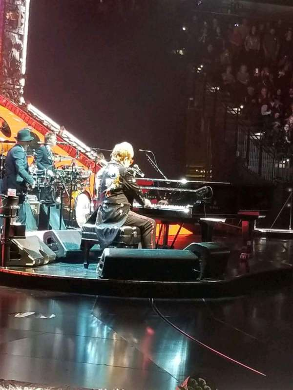 AT&T Center, section: 10, row: 9, seat: 20