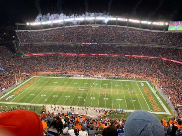 Broncos Stadium at Mile High, section: 532, row: 32, seat: 14