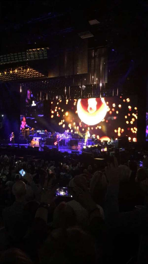 The O2 Arena, section: 111, row: J, seat: 435