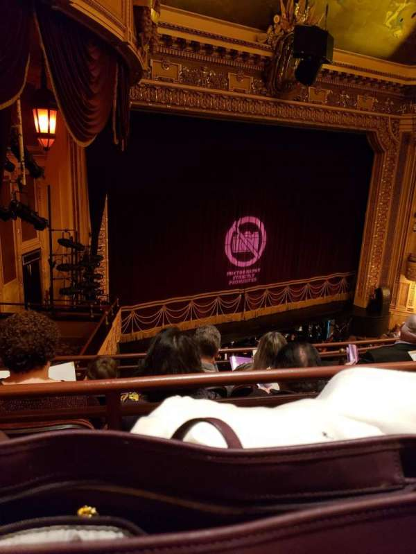 Hippodrome Theatre, section: LMBAL, row: D, seat: 215