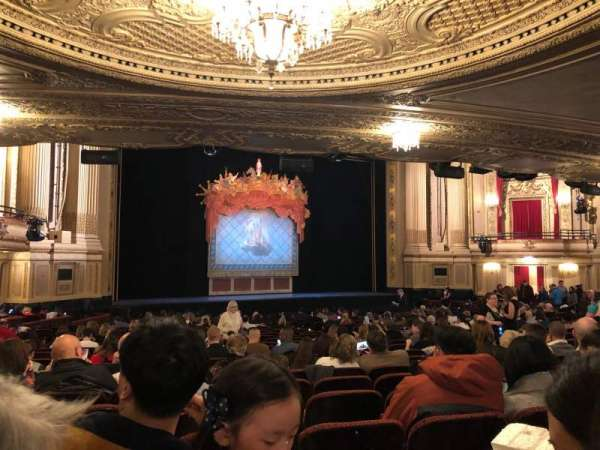 Citizens Bank Opera House, section: Orch Lft, row: U, seat: 27