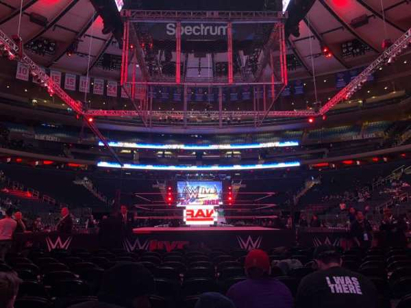 Madison Square Garden, section: B, row: 11, seat: 12