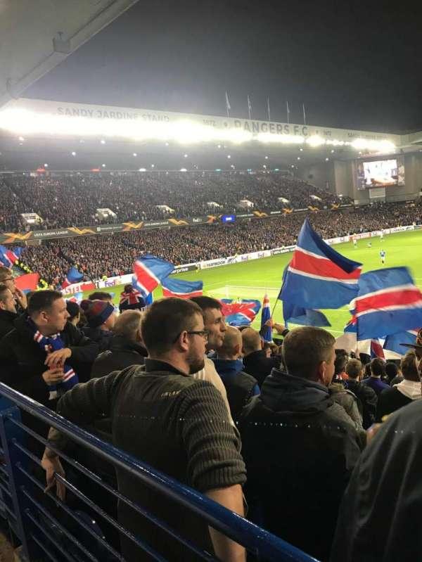 Ibrox Stadium, section: BF1, row: X, seat: 40