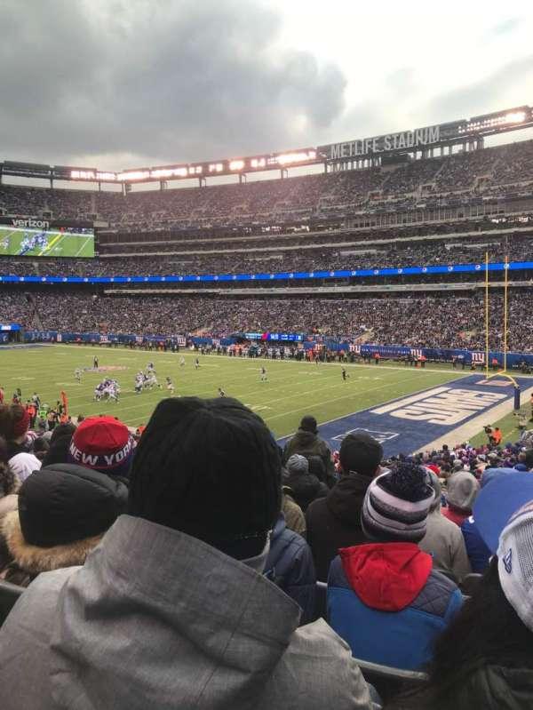 MetLife Stadium, section: 108, row: 31, seat: 3