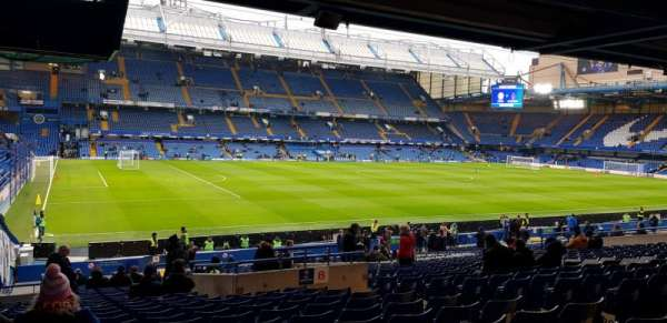 Stamford Bridge, section: West Stand Lower, row: 35, seat: 212