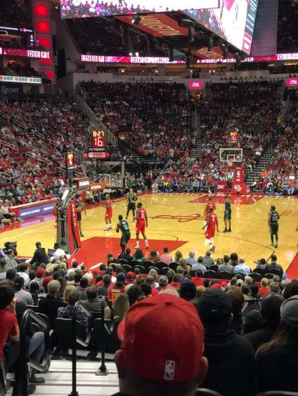 Toyota Center, section: 112, row: 13, seat: 13