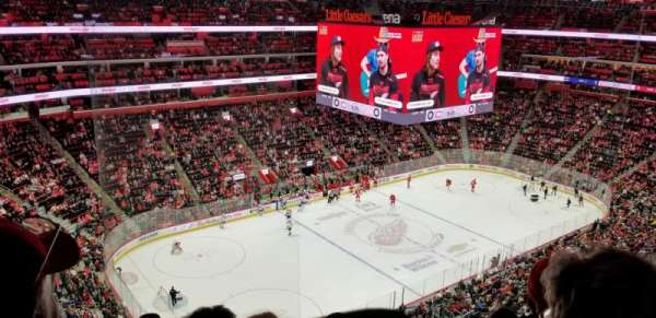 Little Caesars Arena, section: 215, row: 8, seat: 10