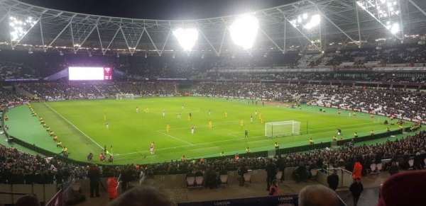 London Stadium, section: 245, row: 37