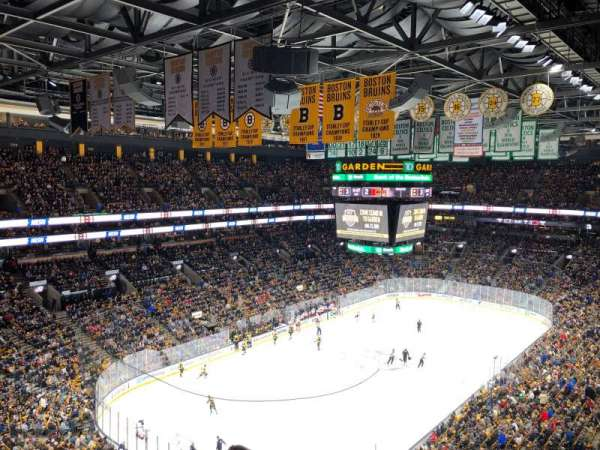 TD Garden, section: bal 321, row: 9, seat: 5