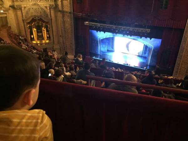 Chicago Theatre, section: BALC2R, row: M, seat: 204