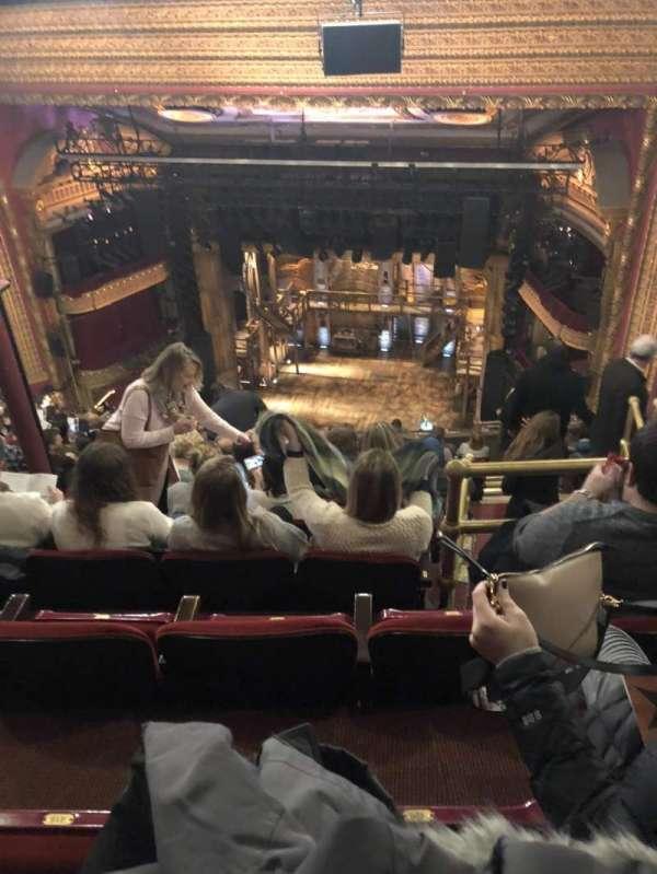 CIBC Theatre, section: Balcony, row: N, seat: 420