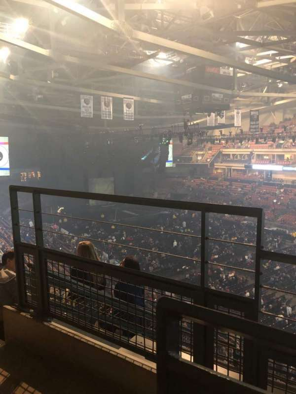 SNHU Arena, section: 204, row: G, seat: 19