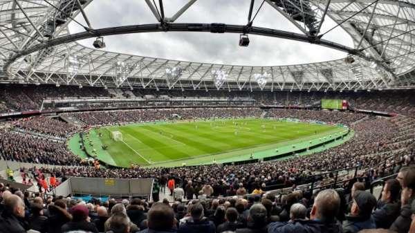 London Stadium, section: 231, row: 42, seat: 598