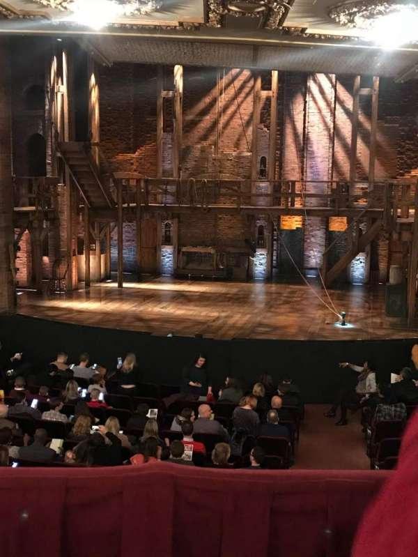 CIBC Theatre, section: DRCR-RC, row: B, seat: 222
