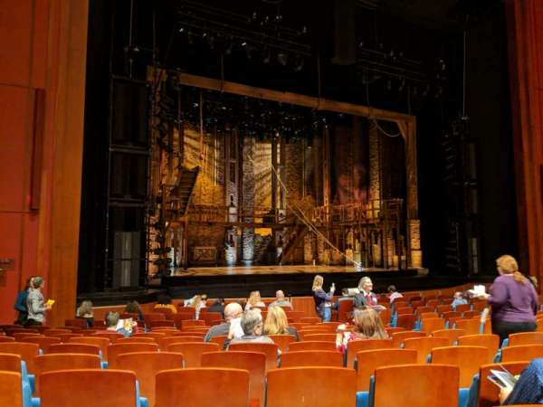 Au-Rene Theatre at the Broward Center, section: Orchestra Left, row: S, seat: 19