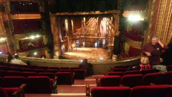CIBC Theatre, section: Mezzanine R, row: G, seat: 2