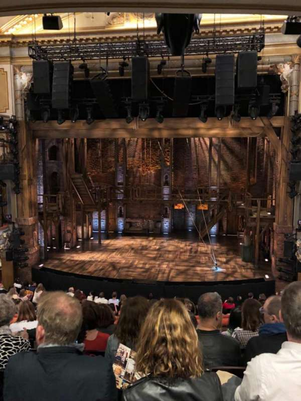 Victoria Palace Theatre, section: Royal Circle, row: F, seat: 16