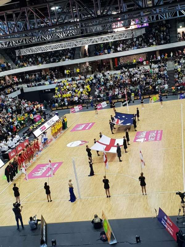 Copper Box Arena, section: 207, row: 17, seat: 35