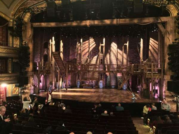 Richard Rodgers Theatre, section: ORCH, row: P, seat: 101
